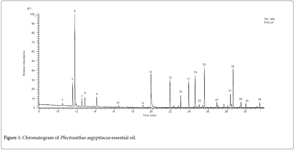 medicinal-aromatic-plants-Chromatogram
