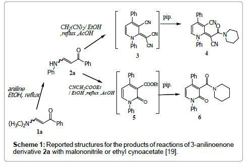 organic-chemistry-anilinoenone