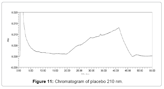 pharmaceutical-analytical-chemistry-Chromatogram-placebo