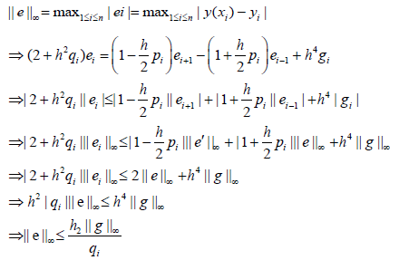 Convergence Analysis of Finite Difference Method for